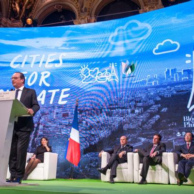 RÉPUBLIQUE FRANÇAISE – COP21 : Les villes pour le climat